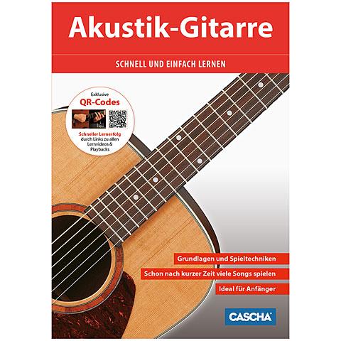 Manuel pédagogique Cascha Akustik-Gitarre schnell und einfach lernen