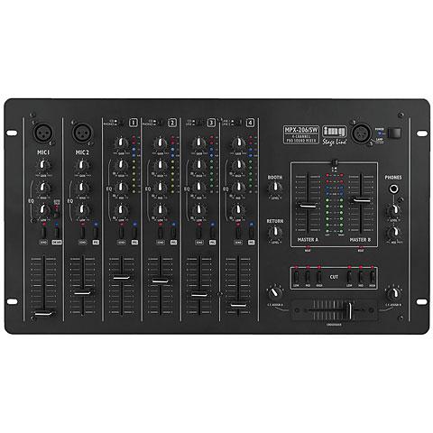DJ-Mixer IMG Stageline MPX-206/SW
