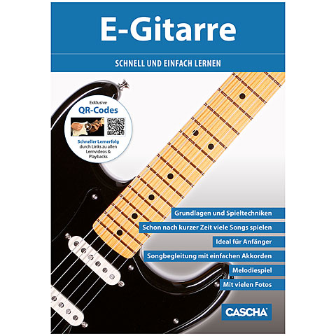 Cascha E-Gitarre schnell und einfach lernen