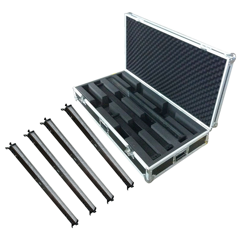 Showtec LED Light Bar 8 Set mit Case « Set