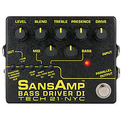 Tech 21 SansAmp BassDriver D.I. V.2 « Bass Guitar Effect