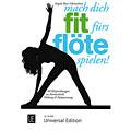 Libros guia Universal Edition mach dich fit fürs Flöte spielen!
