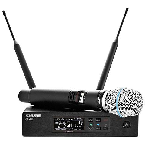 Micrófono inalámbrico Shure QLXD24E/B87A S50