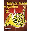 Libro di testo De Haske Hören,Lesen&Spielen Bd. 2 für Horn in F