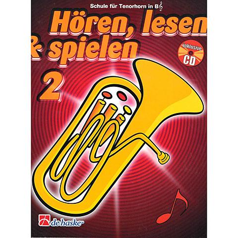 De Haske Hören,Lesen&Spielen Bd. 2 für Tenorhorn/Euphonium
