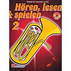 De Haske Hören,Lesen&Spielen Bd. 2 für Tenorhorn/Euphonium « Manuel pédagogique