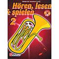 Lehrbuch De Haske Hören,Lesen&Spielen Bd. 2 für Tenorhorn/Euphonium