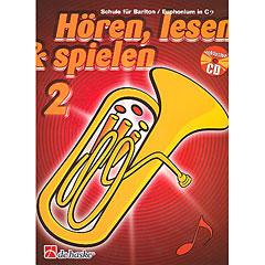 De Haske Hören,Lesen&Spielen Bd. 2 für Baritonhorn/Euphonium in C