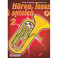 Leerboek De Haske Hören,Lesen&Spielen Bd. 2 für Baritonhorn/Euphonium in C