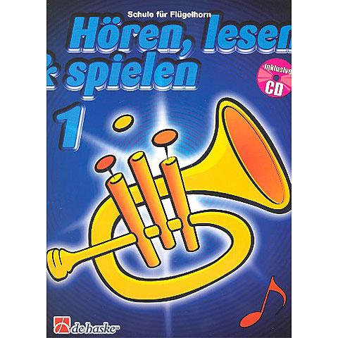 Libros didácticos De Haske Hören,Lesen&Spielen Bd. 1 für Flügelhorn