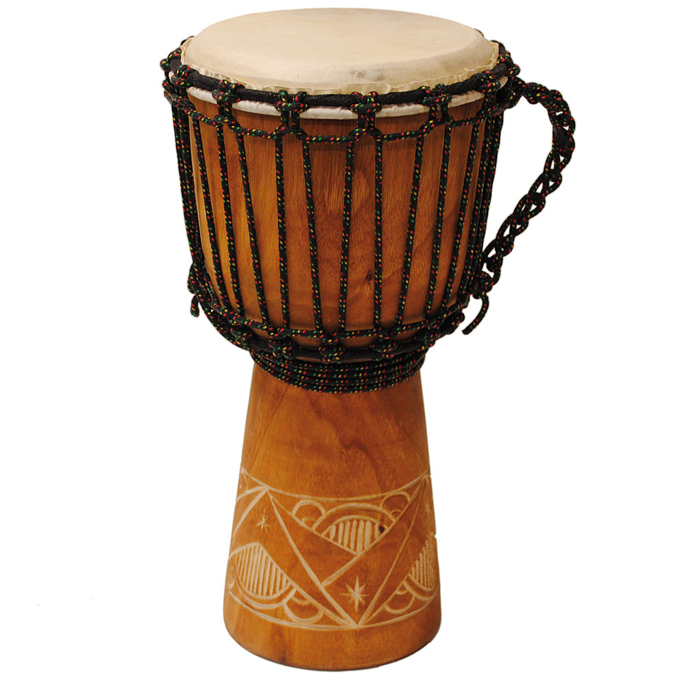 Percussion - Terré Carved 30 cm Djembe - Onlineshop Musik Produktiv