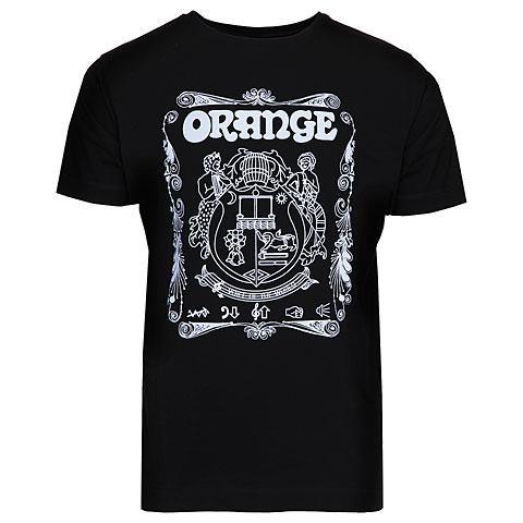 T-Shirt Orange T-Shirt Crest BLK L
