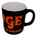 Orange Coffee Cup BLK/OR « Koffiebeker