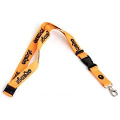 Orange Lanyard BLK/OR « Key Fob