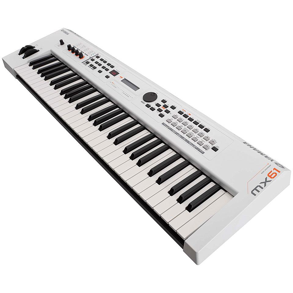 Synthesizer - Yamaha MX61 II WH Synthesizer - Onlineshop Musik Produktiv