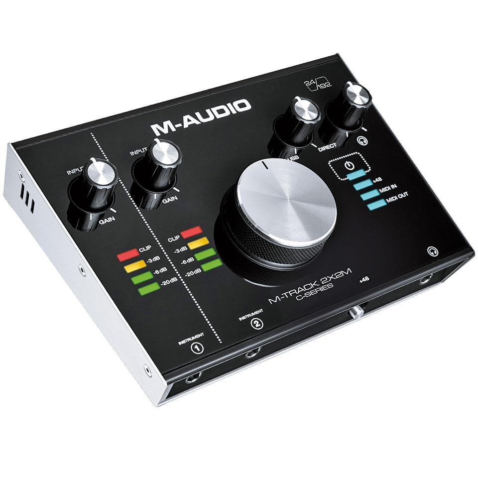m audio m track 2x2m carte son interface audio. Black Bedroom Furniture Sets. Home Design Ideas