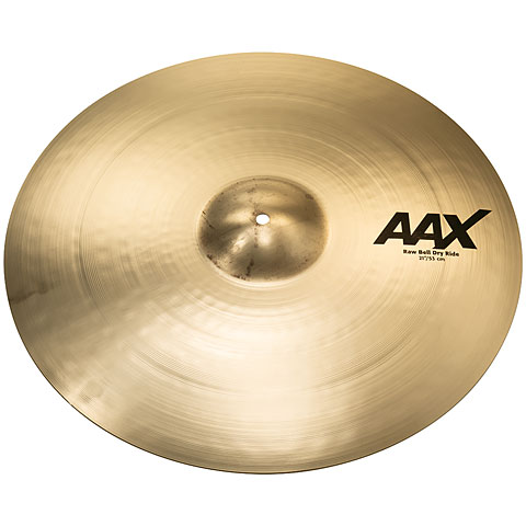 "Ride Sabian AAX 21"" Brilliant Raw Bell Dry Ride"