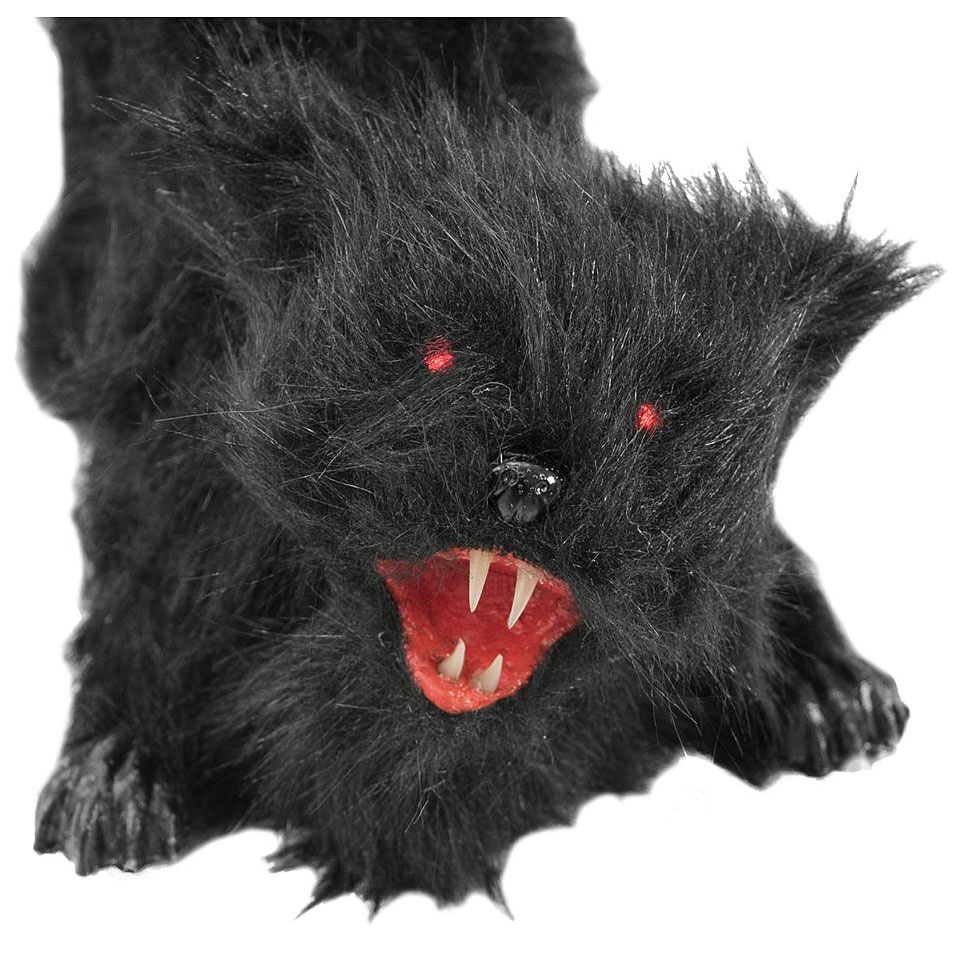 Europalms Halloween Schwarze Katze Decoration