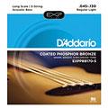 Cuerdas bajo acústico D'Addario EXPPBB170-5