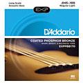 Струны для акустической бас-гитары  D'Addario EXPPBB170