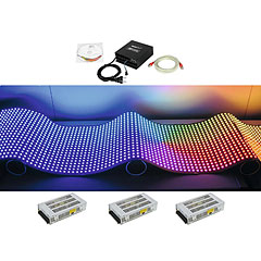 Eurolite Set DF-40 LED-Display 92x92 « Set completo