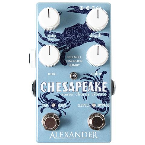Effektgerät E-Gitarre Alexander Chesapeake