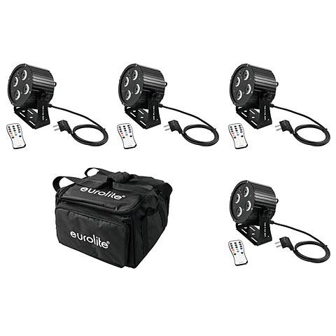 Eurolite Set 4x LED PS-4 HCL Spot