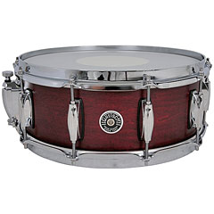 "Gretsch Drums USA Brooklyn 14"" x 5,5"" Satin Cherry Red Snare « Caja"