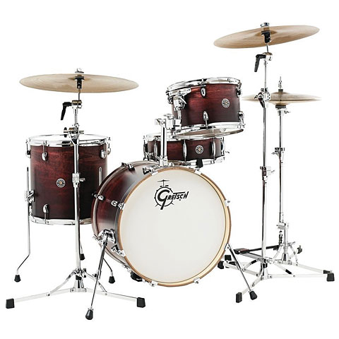 "Schlagzeug Gretsch Drums Catalina Club 18"" Satin Antique Fade Drumset"
