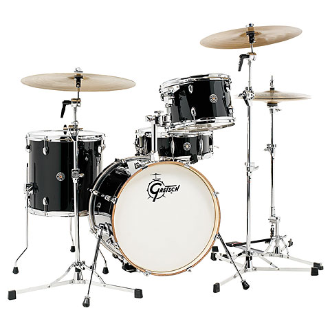 "Gretsch Drums Catalina Club 18"" Piano Black Drumset"