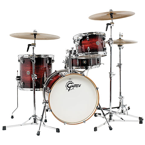 "Gretsch Drums Catalina Club 18"" Gloss Antique Burst Drumset"