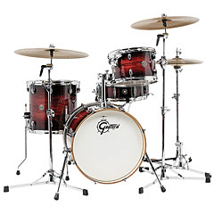 "Gretsch Drums Catalina Club 18"" Gloss Antique Burst Drumset « Trumset"