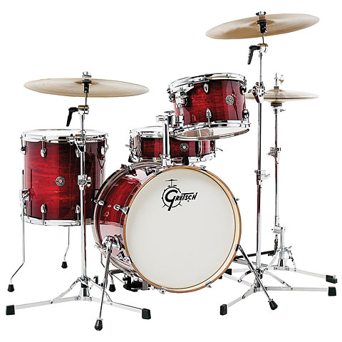 Gretsch Drums Catalina Club 18  Gloss Crimson Burst Drumset