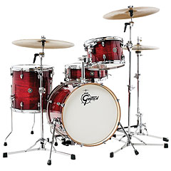 "Gretsch Drums Catalina Club 18"" Gloss Crimson Burst Drumset « Drumstel"