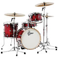 "Drum Kit Gretsch Catalina Club 18"" Gloss Crimson Burst Drumset"