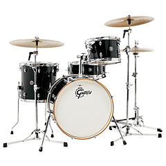 "Gretsch Drums Catalina Club 20"" Piano Black Drumset « Drumstel"