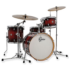 "Gretsch Drums Catalina Club 20"" Gloss Antique Burst Drumset « Drumstel"