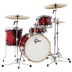 "Gretsch Drums Catalina Club 20"" Gloss Crimson Burst « Trumset"