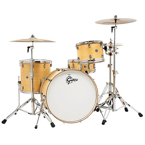 "Gretsch Drums Catalina Club 24"" Satin Natural Drumset"