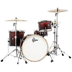 "Gretsch Drums Catalina Club 24"" Satin Antique Fade Drumset « Drum Kit"