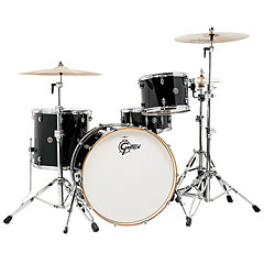 "Gretsch Drums Catalina Club 24"" Piano Black Drumset « Batterie acoustique"