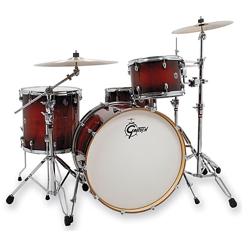 "Gretsch Drums Catalina Club 24"" Gloss Antique Burst Drumset"