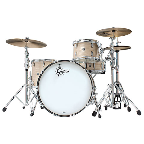 "Gretsch Drums USA Brooklyn 20"" Cream Oyster Drumset"