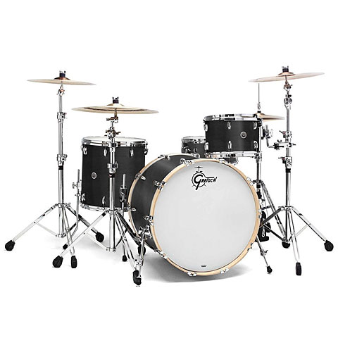 Gretsch USA Brooklyn 20  Satin Dark Ebony Drumset