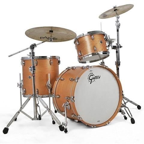 "Gretsch Drums USA Brooklyn 20"" Satin Natural Drumset"