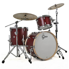 "Gretsch Drums USA Brooklyn 20"" Satin Cherry Red Drumset « Batería"