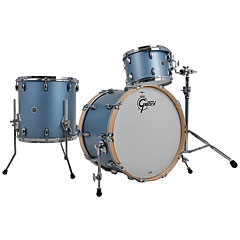"Gretsch Drums USA Brooklyn 20"" Satin Ice Blue Metallic Drumset « Drum Kit"