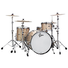 "Gretsch Drums USA Brooklyn 22"" Creme Oyster Drumset « Drum Kit"