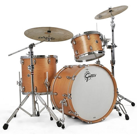 "Gretsch Drums USA Brooklyn 22"" Satin Natural Drumset"