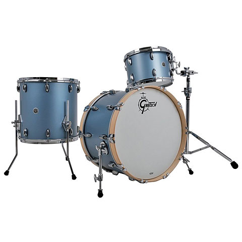 Gretsch Drums USA Brooklyn 22  Satin Ice Blue Metallic Drumset